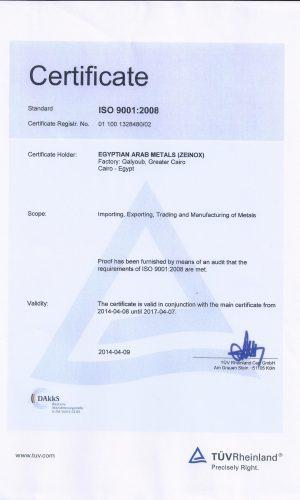ISO 9001 TUV